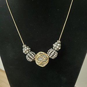 Chico's gold chain Necklace
